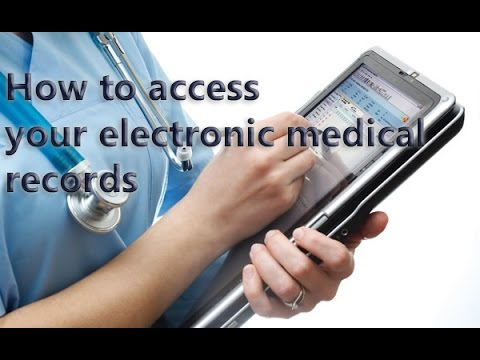 Medical records - How to access your electronic medical records.