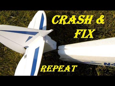 RC CWR Super Cub HOW TO crash and FIX
