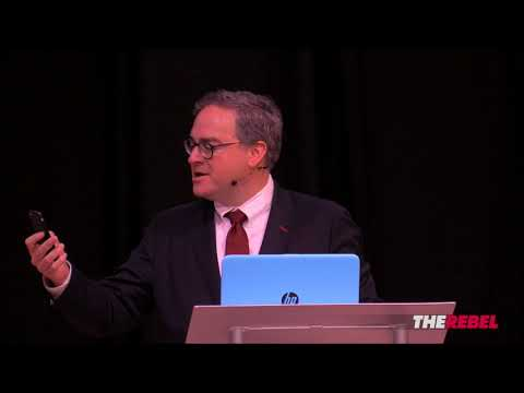 Ezra Levant MOCKS BuzzFeed reporter at The Rebel Live 2018!
