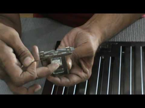 How to repair Baffle Flter Lock of Chimney