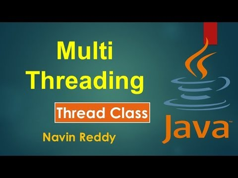#10.1 Java Tutorial | Multithreading | Thread class