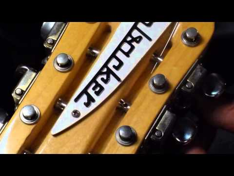 Easy way to restring your Rickenbacker 12 string CLOSE UP Pt. 2 by Bill Baker