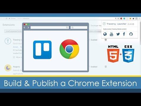 Build & Publish a Custom Google Chrome Extension