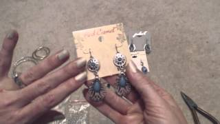 ASMR Southern Accent ~~ Soft Spoken ~~ Converting Pierced Earrings to Clip-Ons