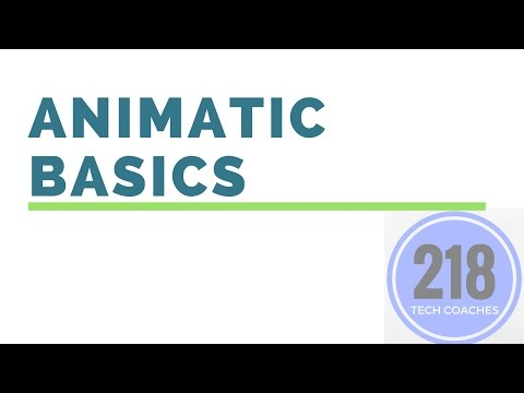 Animatic Basics