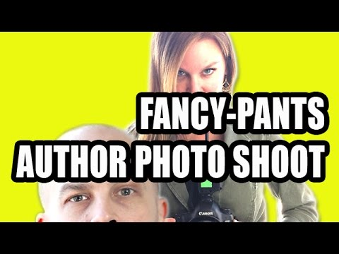 FANCY-PANTS AUTHOR PHOTO SHOOT •Scott Sigler