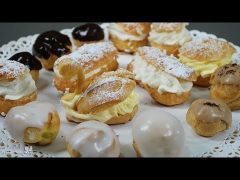 Frosted Cream Puffs