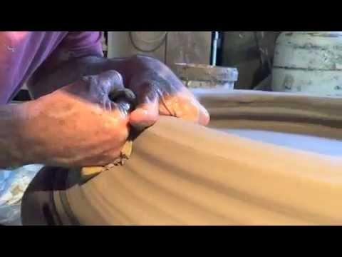 Cameron Williams Making Large Pot