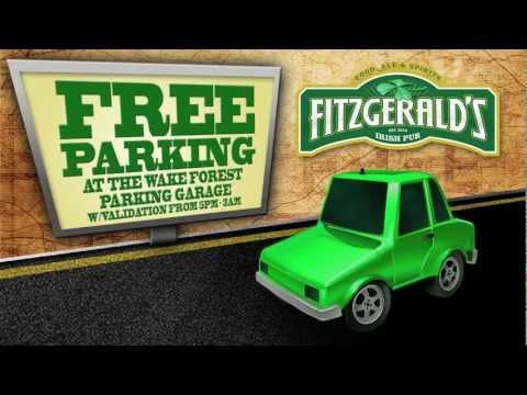 Fitzgeralds Irish Pub - Marketed on Charlotte Hotel TV