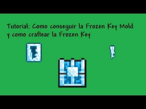 Terraria Tutorial - Como Abrir el Frozen Chest (Frozen Key Mold y Frozen Key)