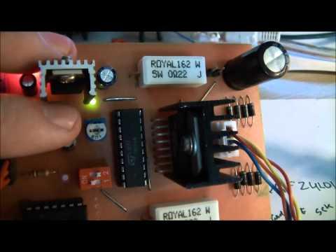 DIY L297 L298N Stepper motor driver/controller