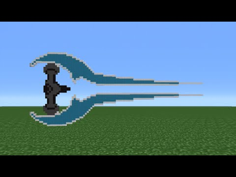 Minecraft Tutorial: How To Make A Halo Energy Sword