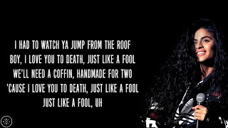 Jessie Reyez ft. Eminem - COFFIN (Lyrics)