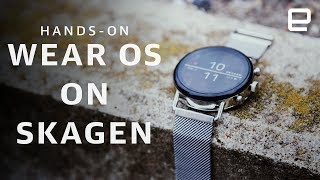 Wear OS on Skagen Falster 2 at IFA 2018
