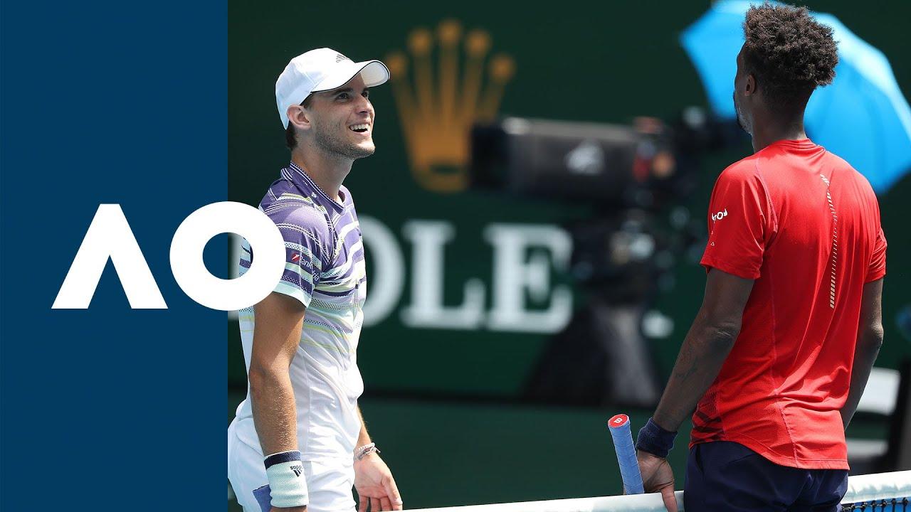 Gael Monfils vs Dominic Thiem - Extended Highlights (R4) | Australian Open 2020