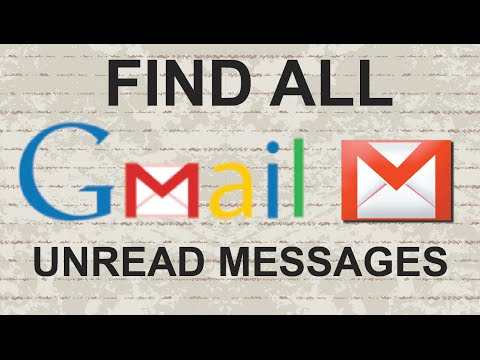 Find all gmail inbox unread