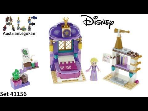 Lego Disney 41156 Rapunzel's Castle Bedroom - Lego Speed Build Review