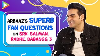 """If I have a subject that suits Shah Rukh and I can…"":Arbaaz 