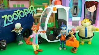 Disney Zootopia Juguetes - Zootropolis Episodio en Español Jugando con Muñecos