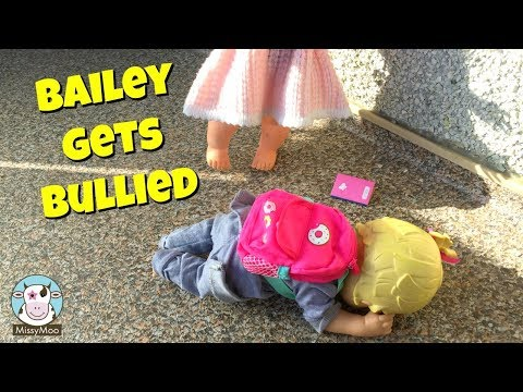 Baby Alive Bailey gets bullied at school