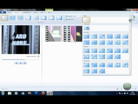 Quick Tutorial: Windows Live Movie Maker 2011