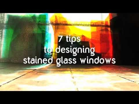 7 tips to designing stained glass windows for Trinity Church, Irvine