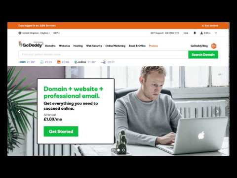 Moving Your Entire Website in less than 5 Minutes | Godaddy 2017