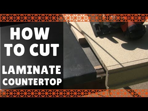 How to Cut Laminate Countertop – DIY