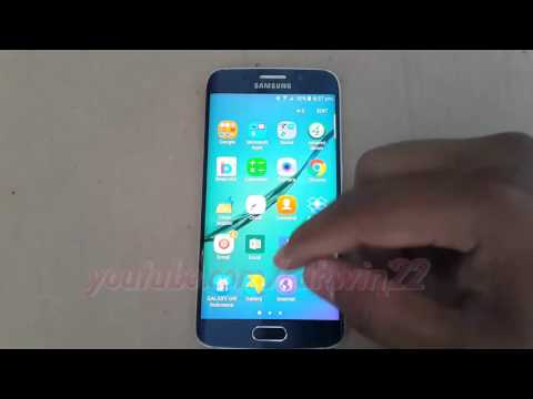 Samsung Galaxy S6 : How to Add or Remove Apps in Home Screen