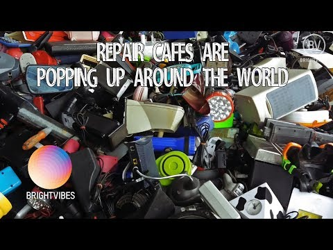 Can you fix it? The Repair Cafe international are waging war on our throwaway culture