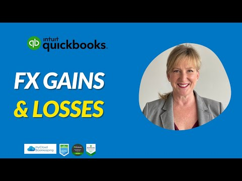 Currency Gains And Losses in QuickBooks Online