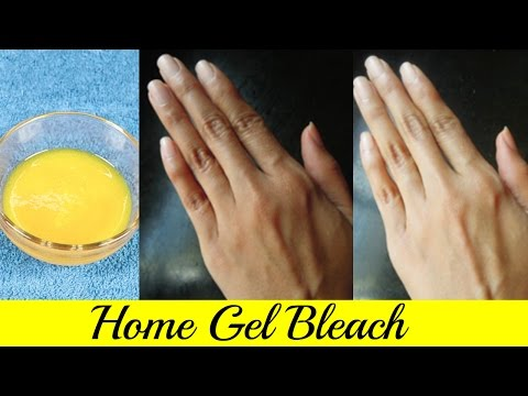 Facial Bleach at Home || Instant Skin Whitening Gel Bleach || 100% Effective