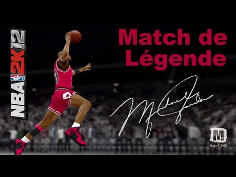 NBA 2K12   Match De Légende Avec Michael Jordan   [HD]