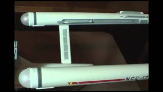 Polar Lights 1:1000 Enterprise Refit Star Trek build-off 3