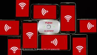 Airtel 4G Hotspot - Get 4G Speeds on all devices