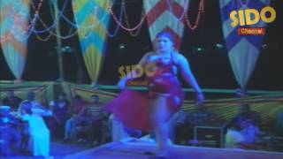 belly dance اتفرج على اجمل واحلى اربع راقصات فى فرح شعبى Sido Channel   belly Dance 15