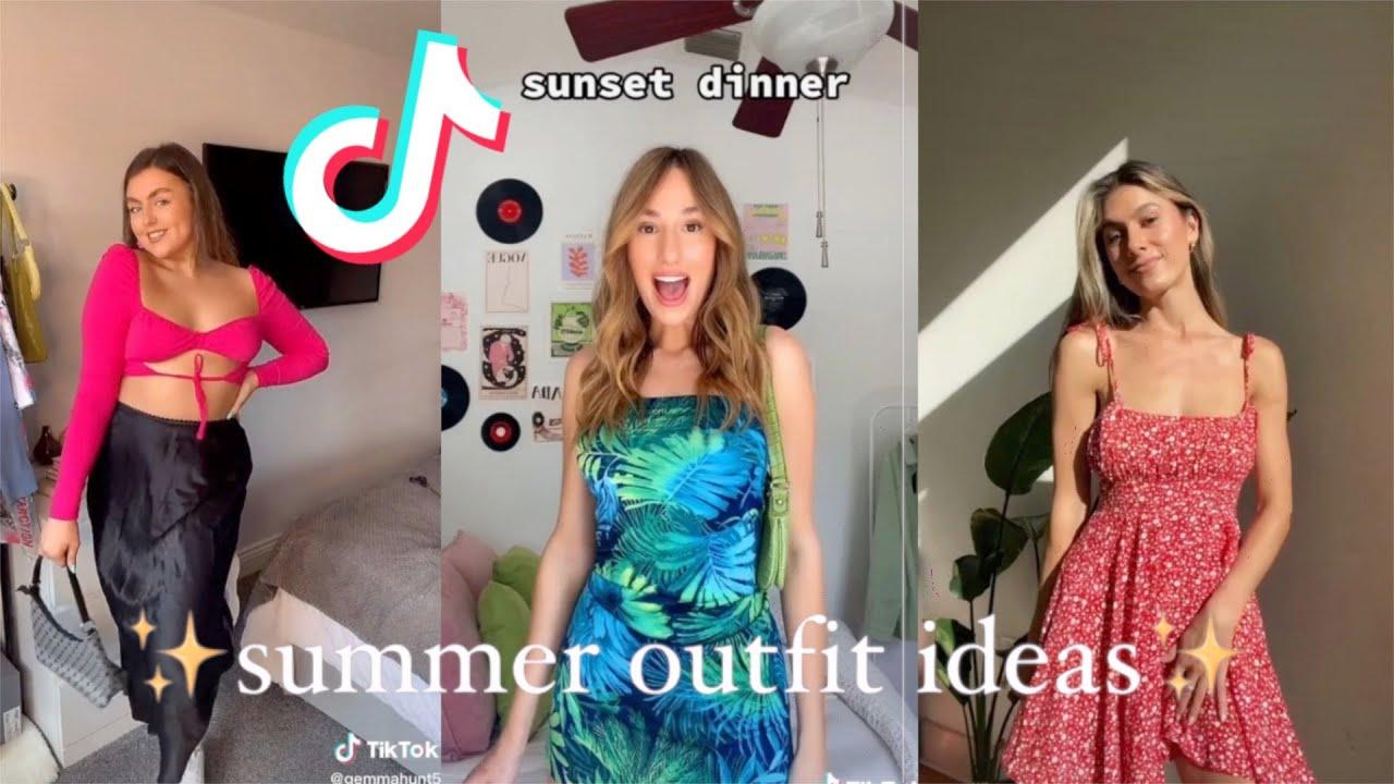 Stunning Summer Outfit Ideas 2021✨ 💖  (TikTok Compilation)