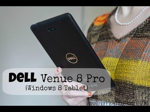 Windows 8 Tablets: Dell Venue 8 Pro From Dell.com