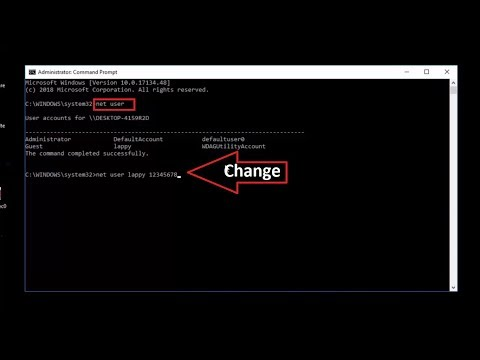 How to Change Windows 10 Password without Knowing Old Password Using CMD