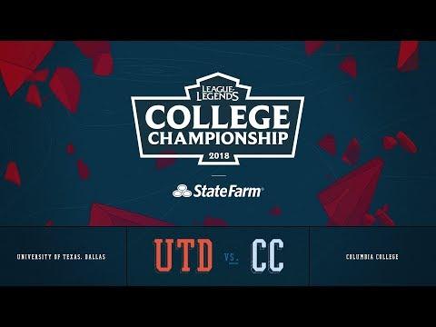 Columbia vs UT Dallas | QuarterFinals Game 1 | 2018 College Championship | CC vs UTD