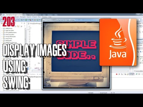 JAVA How to display an image with Swing