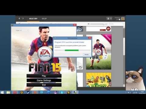 FIFA 15 (PC) - Net Framework error problem fix - poradnik PL