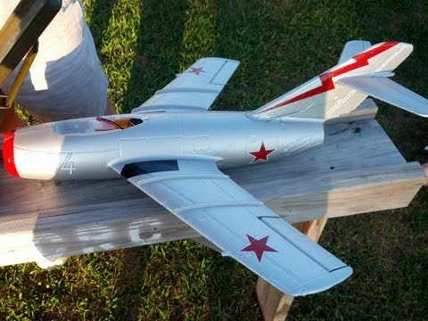 Banana Hobby Mig 15 EDF RC Jet 50mm Free Flying