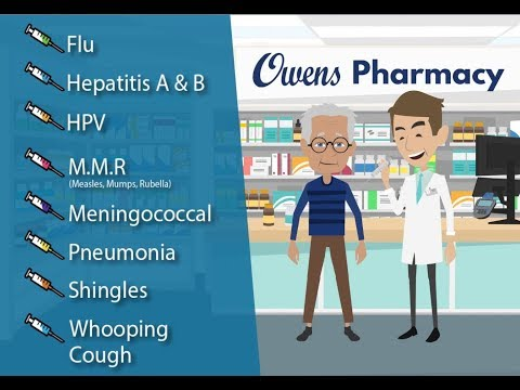 Flu Shots & Vaccinations At Owens Pharmacy In Northern Californa