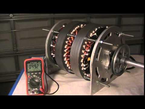 $9,985  U.S. PATENT #9,444,294 Low RPM 30kW PM Generator