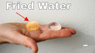 How To Make Fried Water
