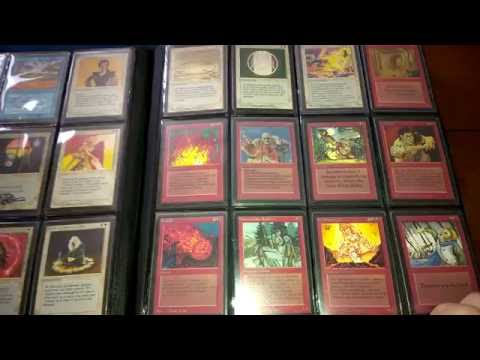 Old and Vintage Mtg, magic the gathering collection. Alpha Beta
