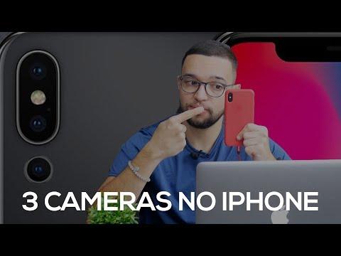 iPHONE COM 3 CÂMERAS TRASEIRAS?