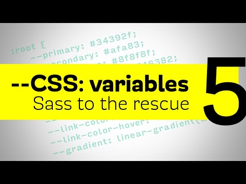 CSS Variables - Sass to the rescue for fallbacks