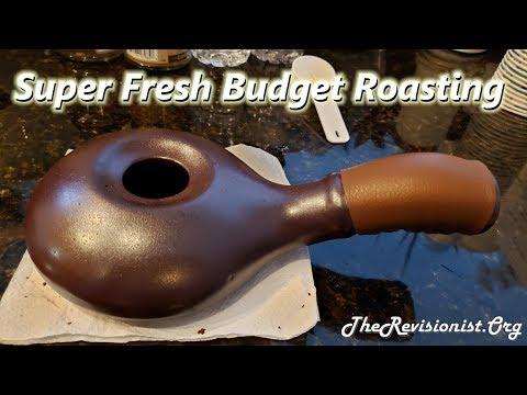 Ceramic Coffee Bean Hand Roaster for Superior Taste & IBS